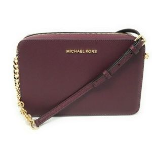 Michael Kors Jet Set Item Large Crossbody Merlot
